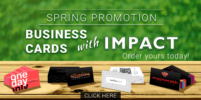 Spring Business Card Promotion