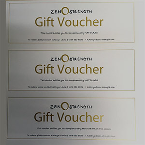 Metallic Gold Voucher