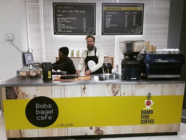 You can now get Bob's Bagel Cafe at our store, we've collaborated and opened up a satellite Bob's Bagels cafe in our store! Pop in for some Damn Fine coffee! Everyone loves Bob's Bagels!