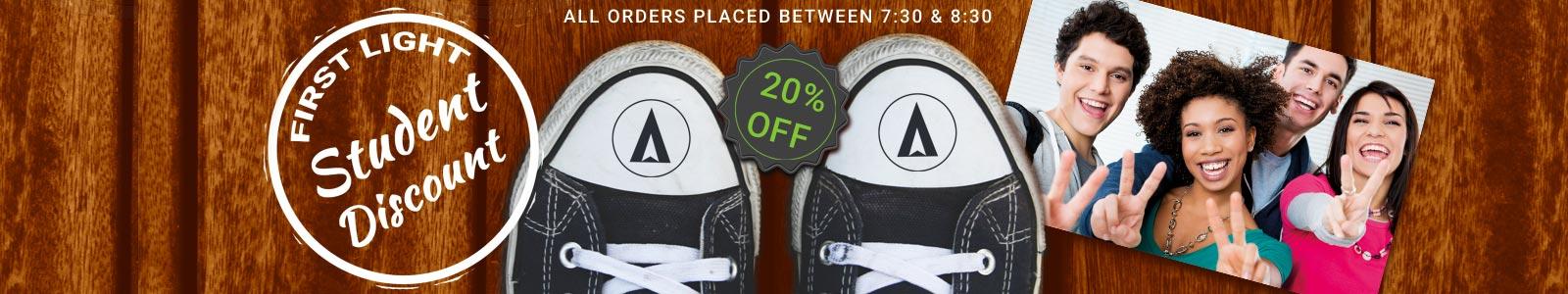 Wizardz First Light Student Discount