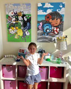 Children's room canvas art