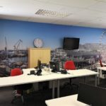 Oxbow Office Wallpaper
