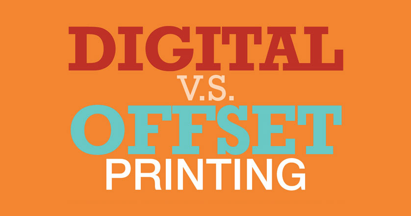 Digital vs Offset Printing