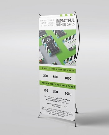 Order X-Banners Online