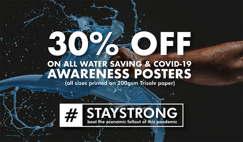 Staystrong awareness poster campaign