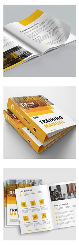 Training Manual Printing