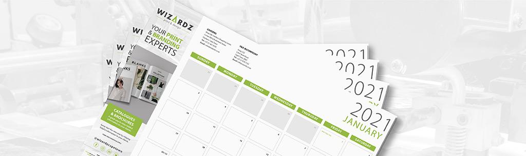 2021 Calendar Printing Promo