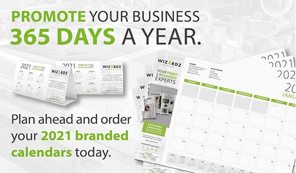 What's Hot Calendar printing promo