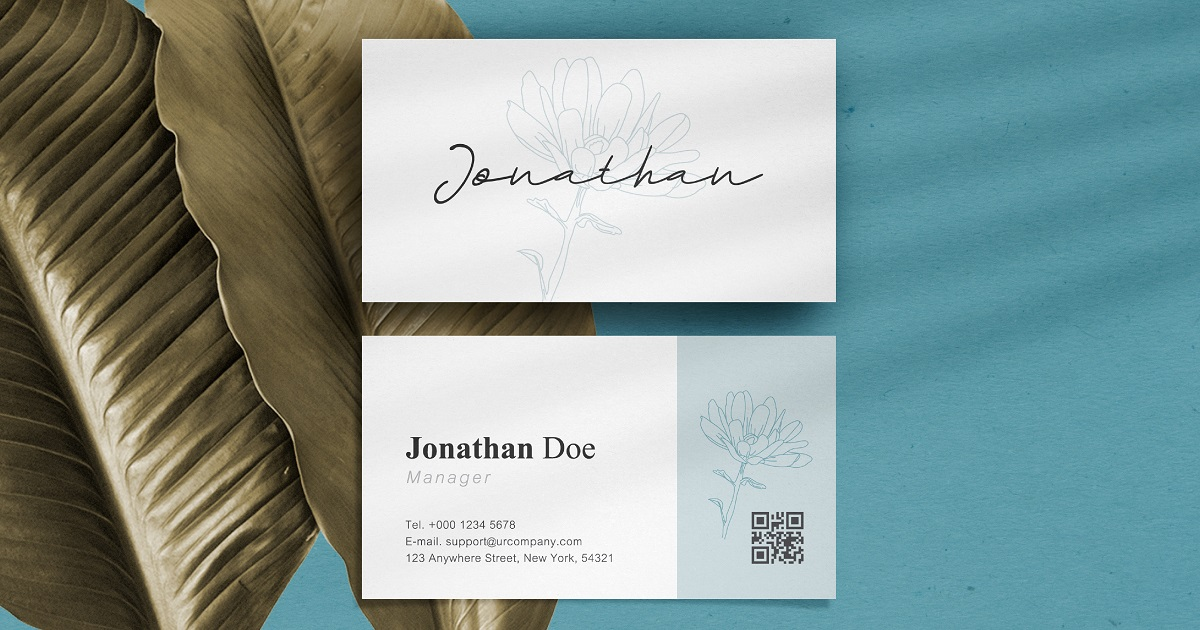 Business Card Promo