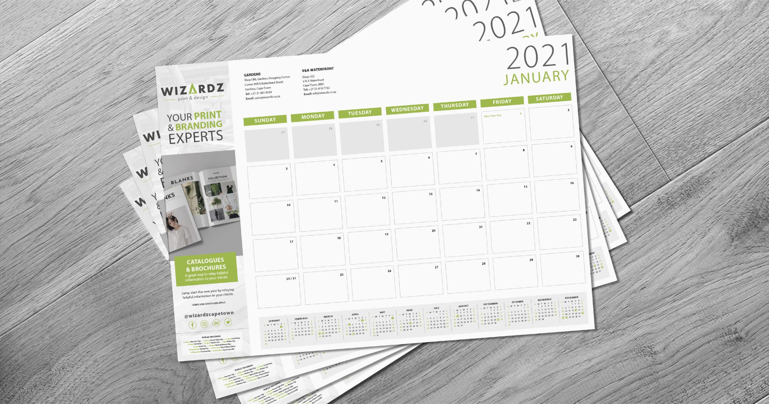 Deskpad Calendar Promo