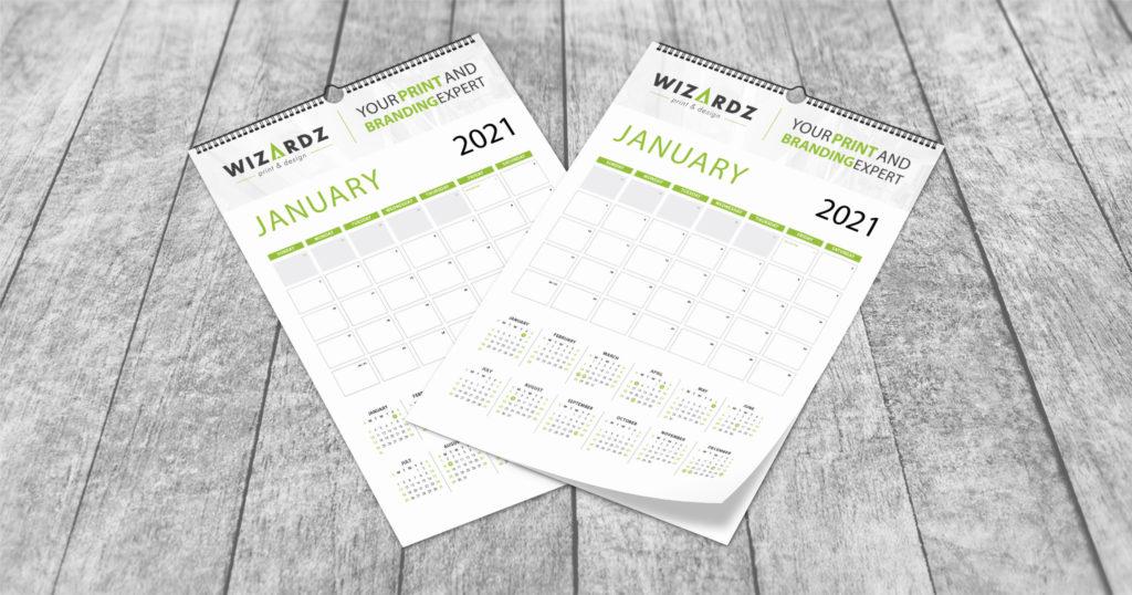 Wall Calendar Promo