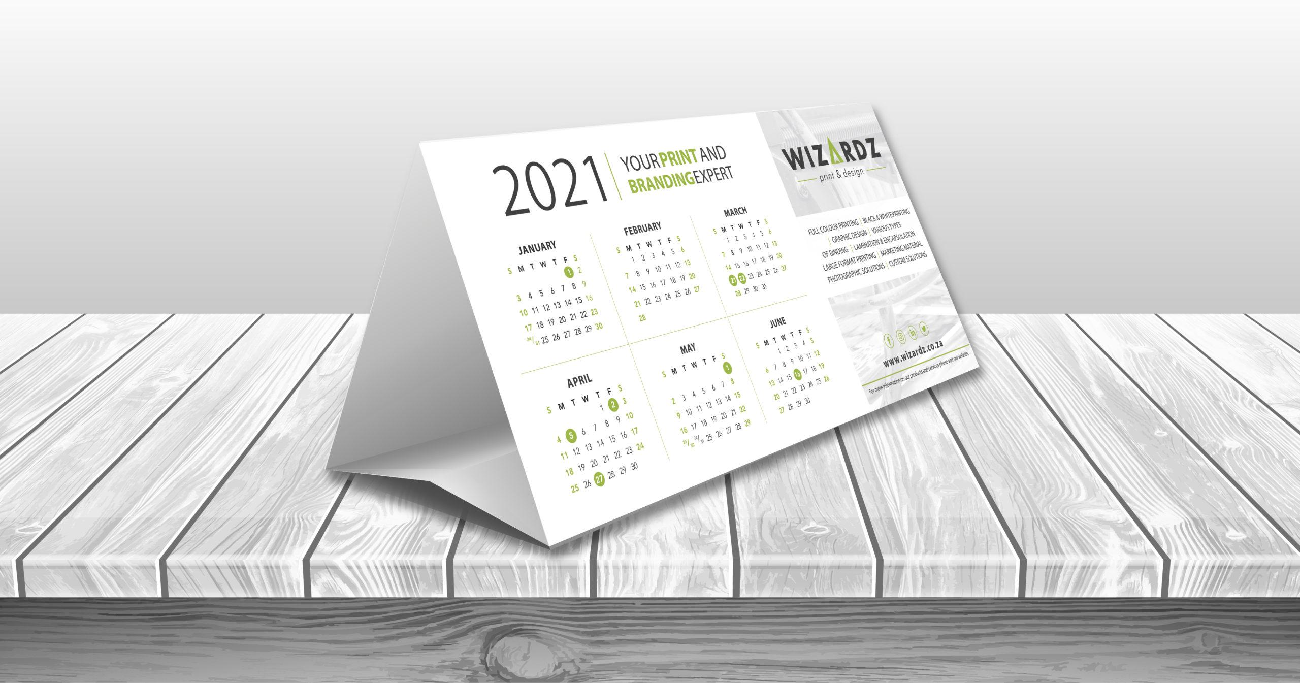 Tent Calendar Promo