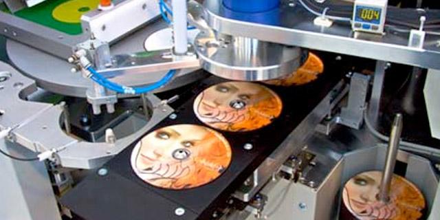 Disc printing